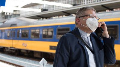 Bernd Wallet op Utrecht Centraal